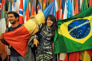 Estudantes estrangeiros 2013