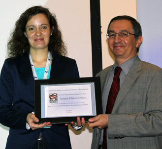 Susana Silva e Manuel Filipe Costa (Presidente da SPOF)