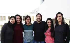 Ana Xavier Carvalho e a sua equipa