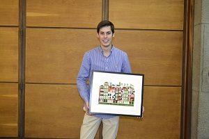 Pedro Lopes, promotor do EcoBook, projeto vencedor do evento