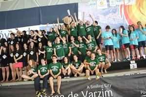Seleção de Natação da U.Porto conquista o título nacional universitário.