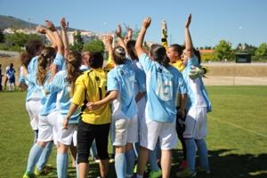 Equipa de Futebol de 7 feminino da U.Porto é tetra campeã nacional universitária.
