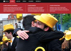 Portal ALUMNI Screen