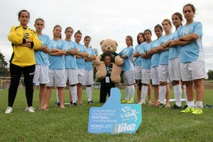 Europeus Universitários 2015 - Futebol feminino