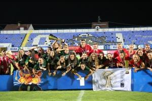 Equipa de Futebol de 7 feminina sagrou-se campeã europeia na Croácia.