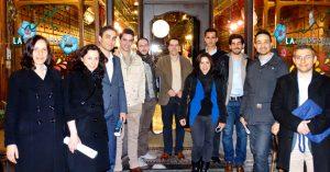 1º jantar AlumniFEUP da Bélgica aconteceu em abril, em pleno centro de Bruxelas.