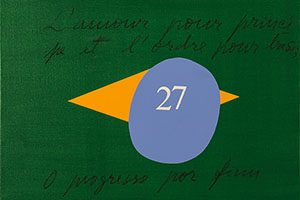 pintura manuel casimiro bandeira brasil