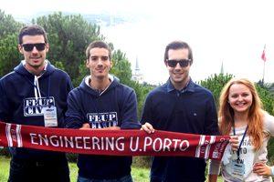 Os estudantes da FEUP que representaram Portugal neste congresso foram o Bernardo Machado, Sérgio Vallejo, João Ferreira e Maryana Berezyak.