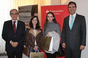 Vencedoras do Inquérito de satisfação do Cartão U.Porto 2015.