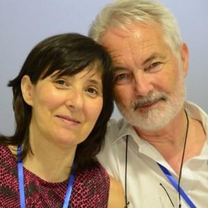 Com a sua mulher, companheira de todos os momentos, na conferência M2D2015, em julho 2015