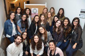 A II Tarde Cosmetológica contou com o empenho dos alunos da UC Cosmetologia