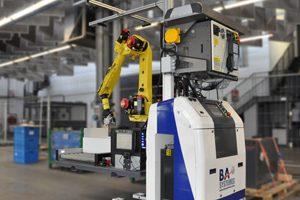 Stamina é o nome do 1º robô móvel a efetuar operações de picking neste setor.