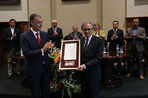 Reitor recebe Medalha de Ouro do Município de Paredes