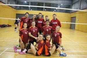 Equipa de Voleibol alcançou o 2º lugar.