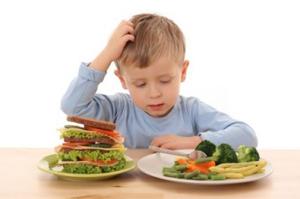 Os hábitos alimentares das crianças são o ponto central do projeto. (Foto: Google Images)
