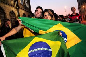 Estudantes brasieliros