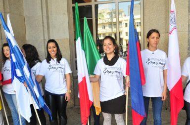 Estudantes Erasmus|Estudantes brasieliros|Estudantes estrangeiros (receção)