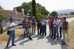 Grupos de investigação visitaram o Douro durante o verão para conhecer in loco os problemas dos produtores.
