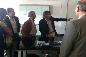 Professor Carlos Brito e Eng. José Brancodiscutiram possíveis colaborações futuras