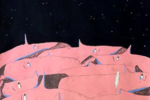 Uma das ilustrações, baseada no episódio 11. Ilustração: Mariana, a Miserável