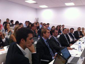 A sessão A2B com o grupo Trivalor reuniu investigadores, empresas do UPTEC e representatntes da maioria das empresas do grupo