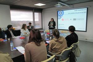 Elisa Keating, na apresentação do programa IJUP Empresas