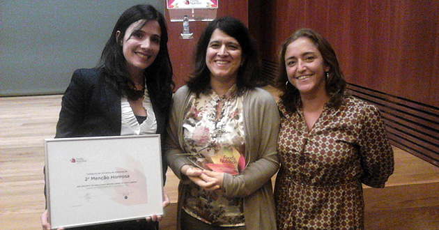 Investigadoras ISPUP | Nutrition Awards 2014 (destaque)