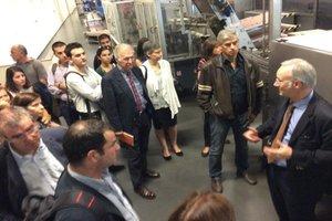 Participantes da sessão A2B visitaram as instalações da Sogrape, em Avintes
