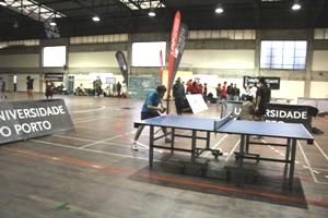 O Estádio Universitário da U.Porto recebeu a competição de Badminton e Ténis de Mesa.