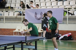 Equipa de Ténis de Mesa masculino venceu o título nacional universitário.