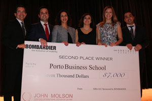 Equipa Porto Business School | John Molson MBA International Case Competition