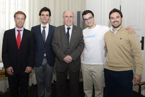 Vencedores Prémio Cidadania Ativa da U.Porto 2014