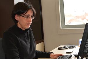 Susana Barbosa tem formação na área da Física e Matemática Aplicada.