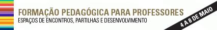 Ações de Formação para os Professores da U.Porto (banner)