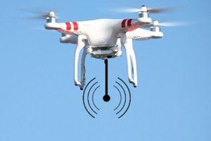 Entre as tecnologias em exposição vão estar pontos de acesso voadores para disponibilizar acesso à Internet em eventos temporários .