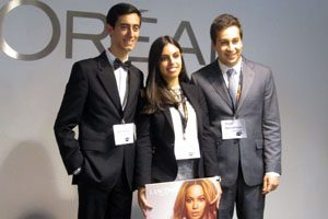 equipa FEP no L'Oréal Brandstorm 2015