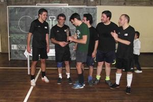 UP Internazionale, vencedora do Torneio, era constituída por funcionários da FFUP, FBAUP, SPUP, FMUP e INEBUP.