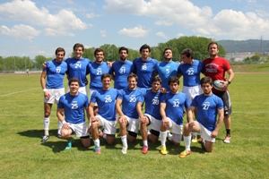 A equipa campeã nacional de Rugby Sevens masculino pretende chegar às medalhas.