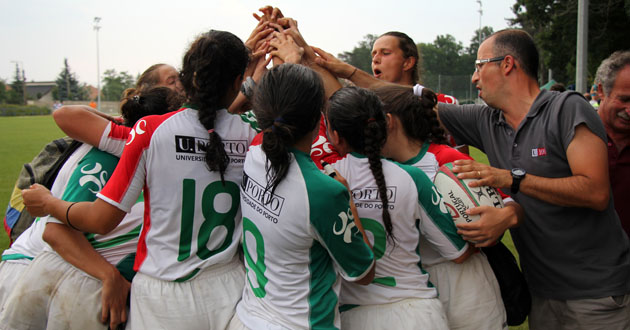 Europeus Universitários 2015 - Rugby7 feminino (destaque)