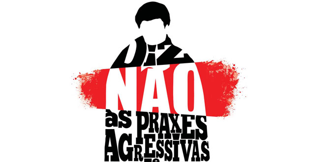 Cartaz contra praxes violentar, Joana Abreu (destaque)