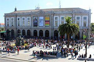 Sessão de Receção aos Novos Estudantes da U.Porto 2015/2016