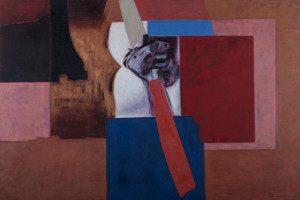 PINHO, Domingos, Crítico Desconcertado, 2006, óleo s/tela, 89 x 116 cm