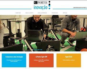 site U.Porto Inovação
