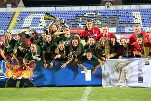 A U.Porto venceu o título inédito de campeã da europa no Futebol 7.