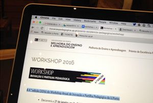 Workshop Anual de Inovação e Partilha Pedagógica da Universidade do Porto 2016