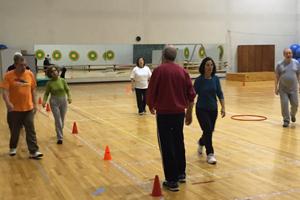 Programa de exercício físico para doentes com Alzheimer. (Fotos: FADEUP)
