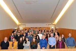 Intercâmbio de estudantes e docentes belgas e portugueses