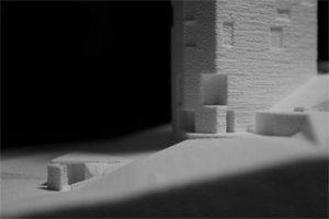 'Da génese do lugar ao projecto' é o título da tese distinguida com o Archiprix Portugal 2016 que teve como orientador Helder Casal Ribeiro © DR