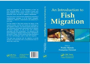 O livro aborda os cinco tipos de migração de peixes