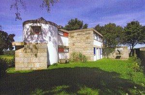 """A """" Casa das Marinhas"""" é uma herança do arquiteto Viana de Lima à Universidade do Porto (DR)"""